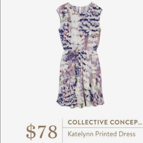 Collective Concepts Dresses & Skirts - Collective Concepts Katelynn printed dress
